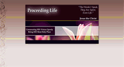 Preview of proceedinglife.org